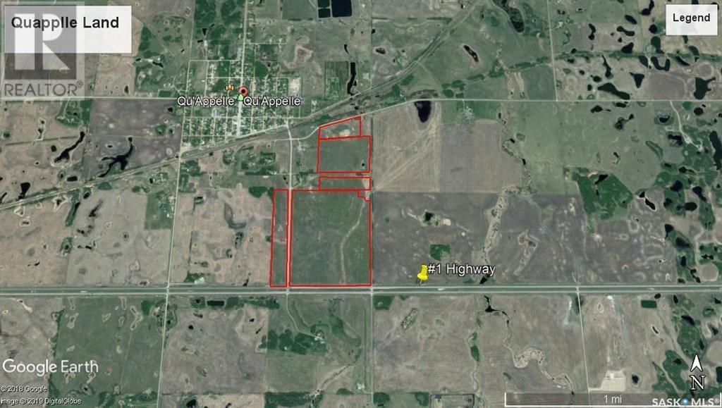 198.67 Acres On #1 Hwy, South Qu'appelle Rm No. 157, Saskatchewan  S0G 0B7 - Photo 2 - SK828727